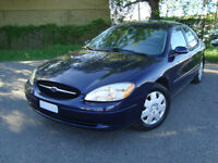 2002 FORD TAURUS SE SEDAN 108000 KMS'' TAX INCLUDED''