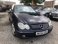 2004 Mercedes-Benz CLK 2.7 CLK270 CDI Avantgarde 2dr 1 PREV OWNER+FSH+FULL LEATHER