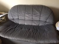Two two seater settees and one matching chair