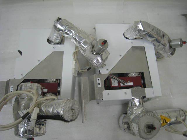 2 Amat 0010-07824, G-plis Liquid Stec Injector Assembly Manifold Heater Jackets