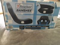 X ROCKER GAMING CHAIR BRAND NEW UNUSED IN BOX £30.00 delivery considered!!