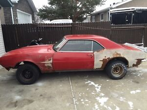 1968 Camaro RS Rallye Sport Solid Restoration Project