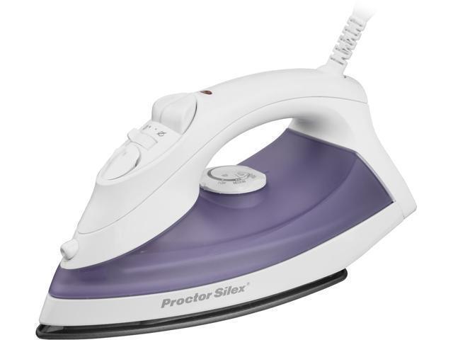 Proctor Silex Steam Iron Purple 17201