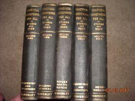 5 Volumes Practical Handywork