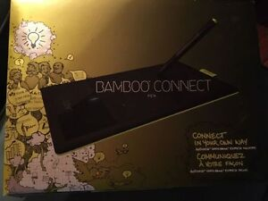 Bamboo Connect- hand write/draw right to computer London Ontario image 1
