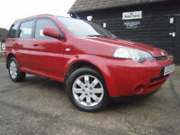 0303 HONDA HRV 1.6 AUTOMATIC 4X4 5 DR LOW MILEAGE 65K NEW MOT/SERVICE THIS WEEK