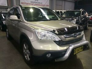 2007 Honda CR-V MY07 (4x4) Sport Champagne 6 Speed Manual Wagon Macquarie Hills Lake Macquarie Area Preview