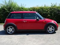 MINI HATCH ONE 1.6 ONE 3d (red) 2005
