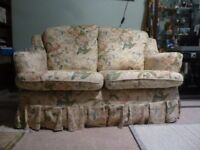 Pretty 2 seater cottage style sofa