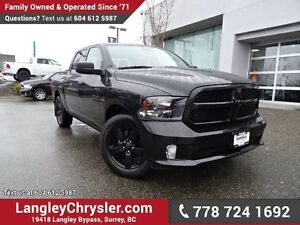 2016 RAM 1500 ST ACCIDENT FREE w/ REAR-VIEW CAMERA & TOW PACKAGE
