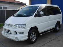 2005 Mitsubishi Delica SPACEGEAR 3.0 lt V6 White 4 Speed Automatic Wagon Caringbah Sutherland Area Preview