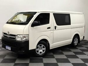 2013 Toyota Hiace KDH201R MY12 LWB White 4 Speed Automatic Van Edgewater Joondalup Area Preview