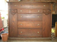 Antique (late 1800s) Murphy Bed... $750 OBO... reduced; $500