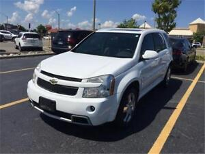 2008 CHEVROLET EQUINOX SPORT, LEATHER, SUNROOF, MINT CONDITION!