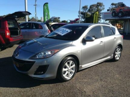 2010 Mazda 3 BL Maxx Grey 6 Speed Manual Hatchback Broadmeadow Newcastle Area Preview