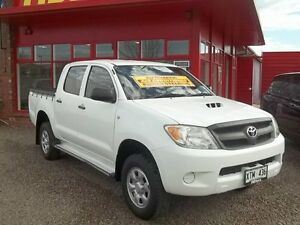 2008 Toyota Hilux KUN26R MY08 SR White 4 Speed Automatic Utility Murray Bridge Murray Bridge Area Preview