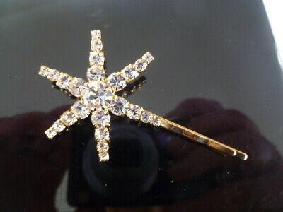 Signed JENNIFER BEHR Crystal Star Hair Clip