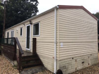 Static caravan for sale off site, Cornwall, 35 x 12 ft / 2 bedrooms, DG & CH - only £3,995!