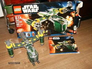 lego star wars ( manque 2 ou 3 pieces et les bonhommes)