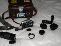 Olympus 35mm Camera and Accessories