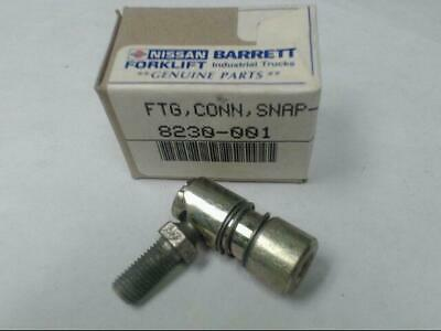 Genuine Barrett Nissan Forklift Parts 8230-001 Snap Fitting Rod End Ball Joint