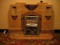 1930's fireplace