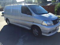 TOYOTA HIACE D4D POWERVAN FOR SALE 2007 SILVER