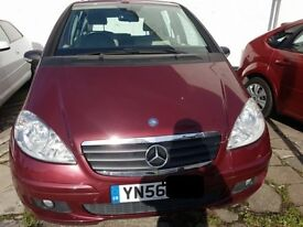 2006 MERCEDES BENZ A150 CLASSIC SE 1.5 PETROL RED COLOUR 5 DOOR
