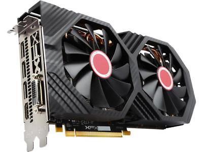 XFX Radeon RX 580 DirectX 12 RX-580P8DFD6 8GB 256-Bit DDR5 PCI Express 3.0 Cross