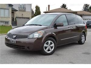 2007 Nissan Quest S • Certified/E-Test • Accident Free • LOW KM