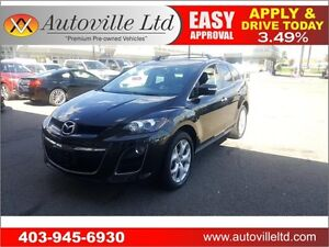 2010 Mazda CX-7 GT NAVI BCAM LEATHER ROOF AWD