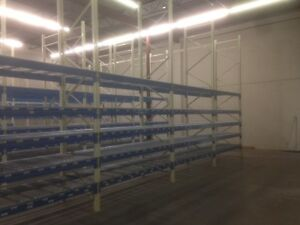 4 year old warehouse pallet racking, like new, great deal