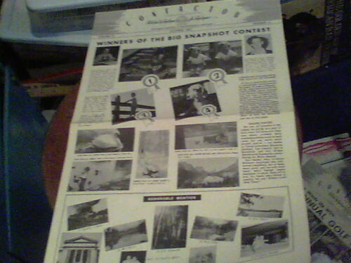 Oct 1951 Contactor Reliance Electric newsletter Ashtabula Winners of Snapshot