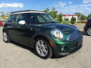 2012 MINI Cooper in British Racing Green!