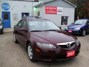 2007 Mazda Mazda6 GS MUST SEE  ONLY 121 KM NO RUST 