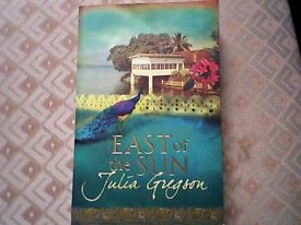 EAST OF THE SUN by JULIA GREGSON - FICTION