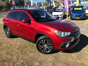 2018 Mitsubishi ASX XC MY18 LS (2WD) Red Continuous Variable Wagon Dapto Wollongong Area Preview