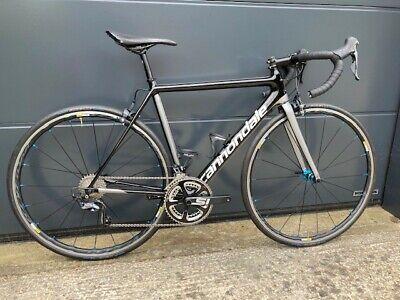 Cannondale SuperSix Evo, Ultegra Carbon Road Bike, 2018, Black / Silver, 52cm