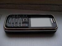 Nokia 6233 loud twin speaker phone unlocked silver/black