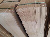 Mahogany Hardboard - ideal for back of wardrobe, covering floorboards, wall cladding