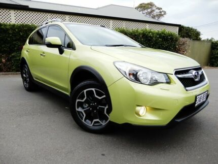 2014 Subaru XV G4X MY14 2.0i-S Lineartronic AWD Plasma Green 6 Speed Constant Variable Wagon Glenelg East Holdfast Bay Preview