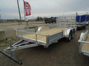 16' ALUMINUM UTILITY TRAILER - ATV RAMPS - BOTTOM LINE PRICING! London Ontario image 6