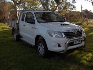 2012 TOYOTA HILUX SR D-4D 3.0LTR XTRA CAB CAB CHASSIS TRAY UTE! Mordialloc Kingston Area Preview