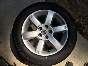 """Brand New 17"""" Tire and Mag Rim Xtrail 2006"""