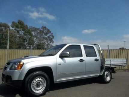 2010 Holden Colorado RC MY10.5 LX (4x2) Silver 5 Speed Manual Crew Cab P/Up