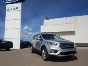 2017 Ford Escape TITANIUM 300A, MOONROOF, NAVIGATION, 4WD, LEATH