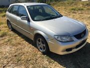 2003 Mazda 323 BJ Astina Silver 3 Speed Automatic Hatchback Kingston Logan Area Preview
