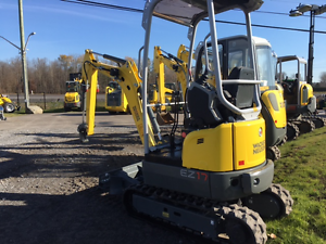NEW WACKER NEUSON EZ17 - MINI EXCAVATOR - SPECIAL PRICING DEAL!
