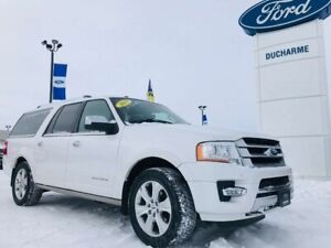 2015 Ford Expedition Platinum MAX, LOADED, DVD, $250 Bi-Weekly!!