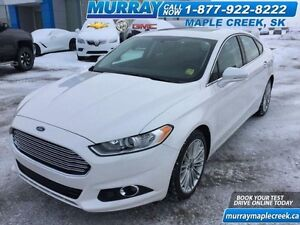 2016 Ford Fusion AWD SE, Leather